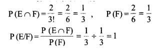 NCERT Solutions for Class 12 Maths Chapter 13 Probability Ex 13.1 Q9.1