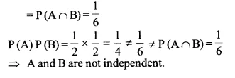 NCERT Solutions for Class 12 Maths Chapter 13 Probability Ex 13.2 Q5.1