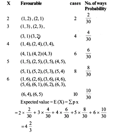 NCERT Solutions for Class 12 Maths Chapter 13 Probability Ex 13.4 Q12.1