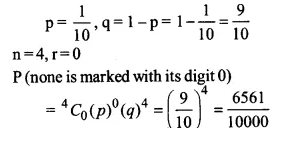 NCERT Solutions for Class 12 Maths Chapter 13 Probability Ex 13.5 Q6.1