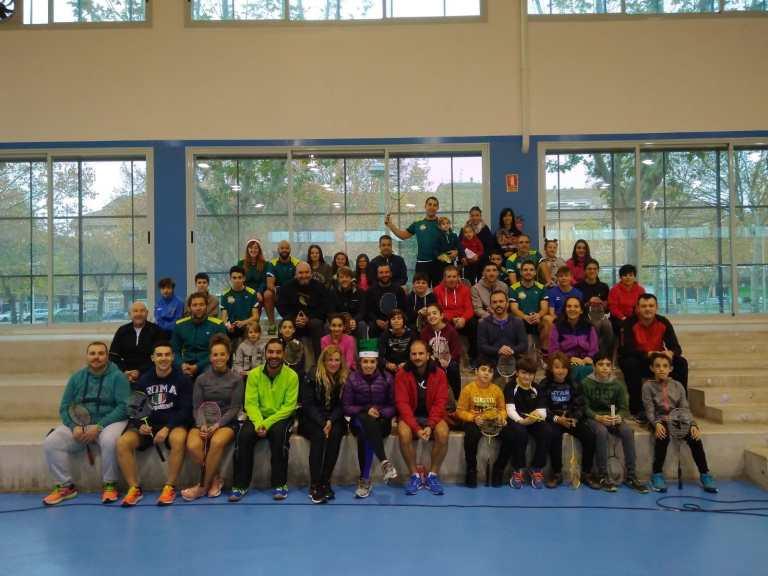 Participantes del I Torneo Navideño