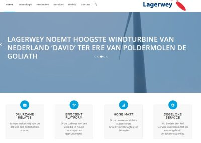 Lagerwey windturbines