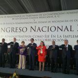 """Inaugura Silvano Aureoles II Congreso Nacional 2017 """"Los Tribunales Administrativos como Eje en la Implementación del Sistema Local Anticorrupción"""