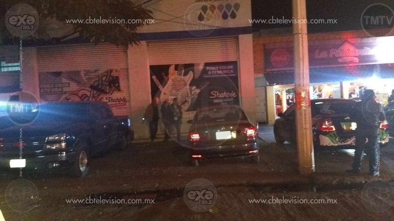 Lanzan granada a oficinas de la PGR en Zamora