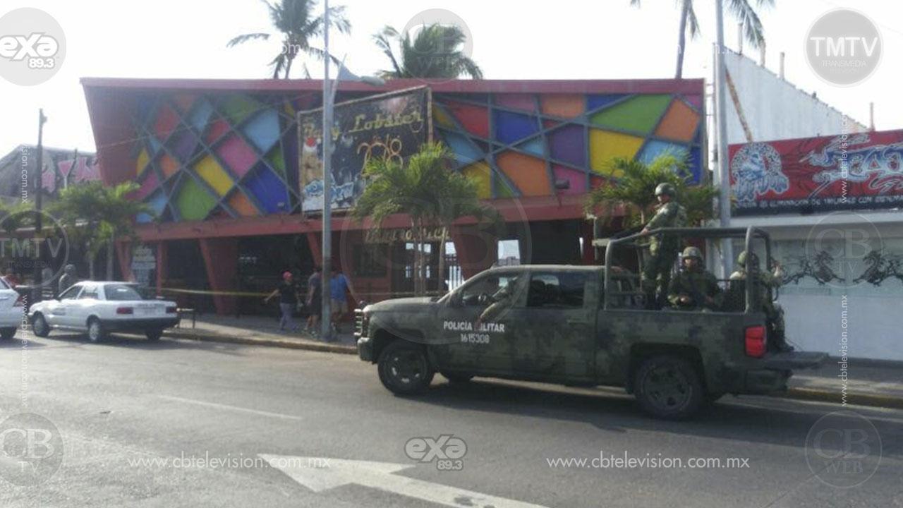 Balacera en bar de Acapulco deja a turista muerto y 5 lesionados