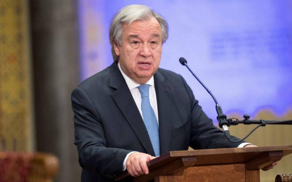 ONU lanza alerta roja por peligros que amenazan al mundo en 2018