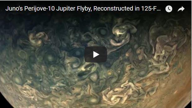Galería: NASA publica nuevas y espectaculares fotografías de Júpiter