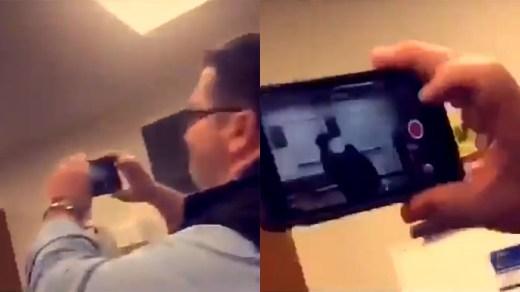 Suspenden a profesor por grabar pela entre alumnos en lugar de detenerlos