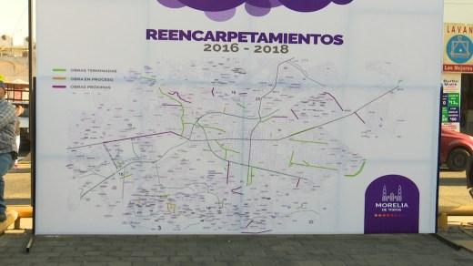 Ayuntamiento de Morelia intervendrá un total de 56 avenidas