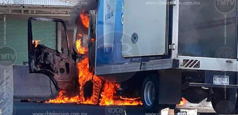 MICHOACÁN: SSP y SEDENA capturan a 12 personas por quema de vehículos Unknown-2-8