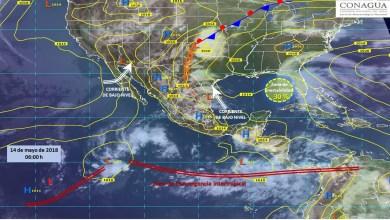 Clima: Predominará el calor y lluvia en la mayor parte del país