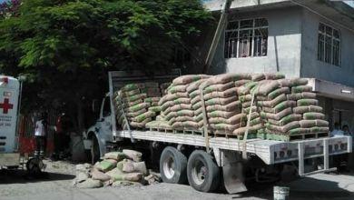 Hombre muere al ser aplastado por 30 toneladas de cemento