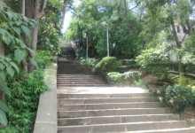 Escaleras de Santa María, foco de inseguridad