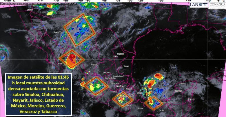Clima: ¡No olvides el paraguas! Continuarán las lluvias en Michoacán