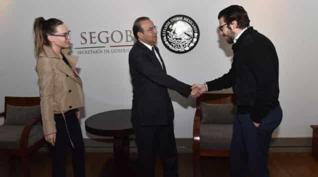 Belinda no será expulsada del país: Segob