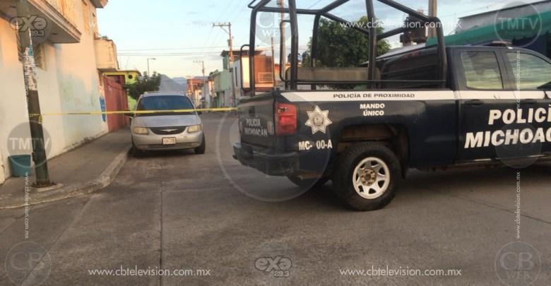 Muchacho muere a tiros en Uruapan mientras caminaba por la calle
