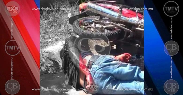 De cinco balazos fue asesinado un motociclista en la Enrique Ramírez