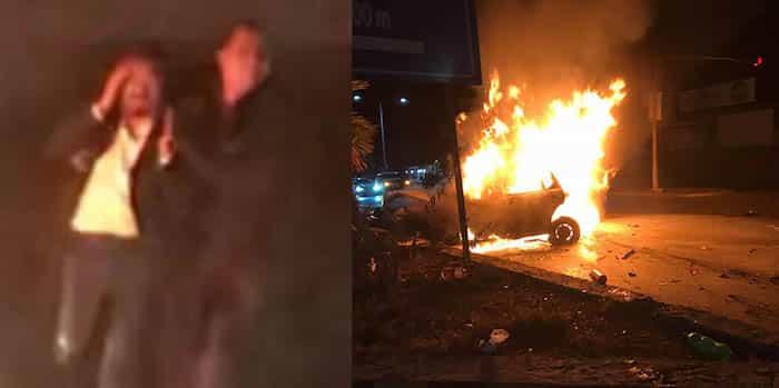 Diputado sí conducía auto involucrado en choque que dejó un muerto