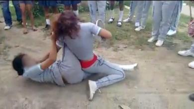 Pelean callejera entre dos niñas de secundaria se sale de control, una termina muerta