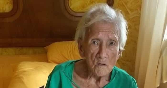 Anciana de 81 años, fue abandonada por su propio hijo en un hotel