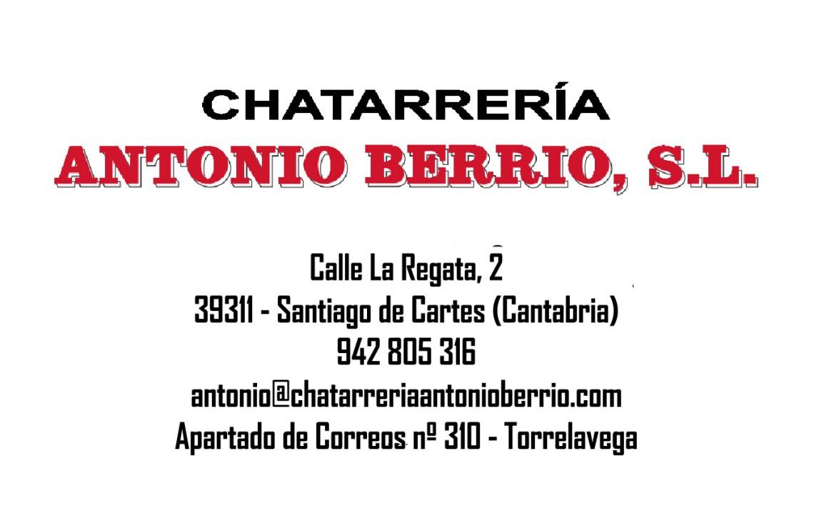 Chaterrería Antonio Berrio
