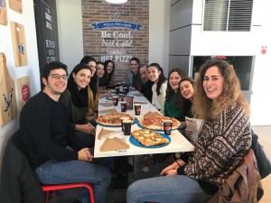 Invitación de Domino's Pizza al Sénior Femenino