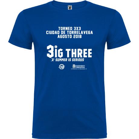Camiseta del Torneo 3x3 Verano CBT Torrelavega