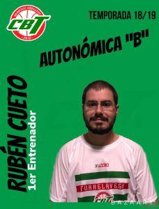Rubén Cueto nuevo entrenador del filial