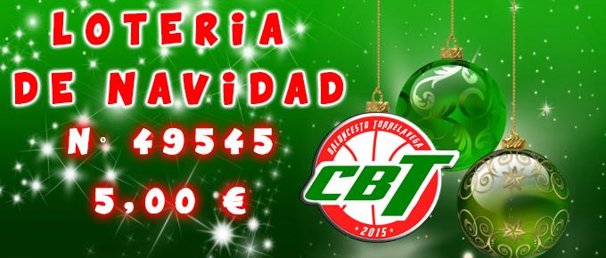 ¡Últimos días para conseguir Lotería de Navidad del CBT!