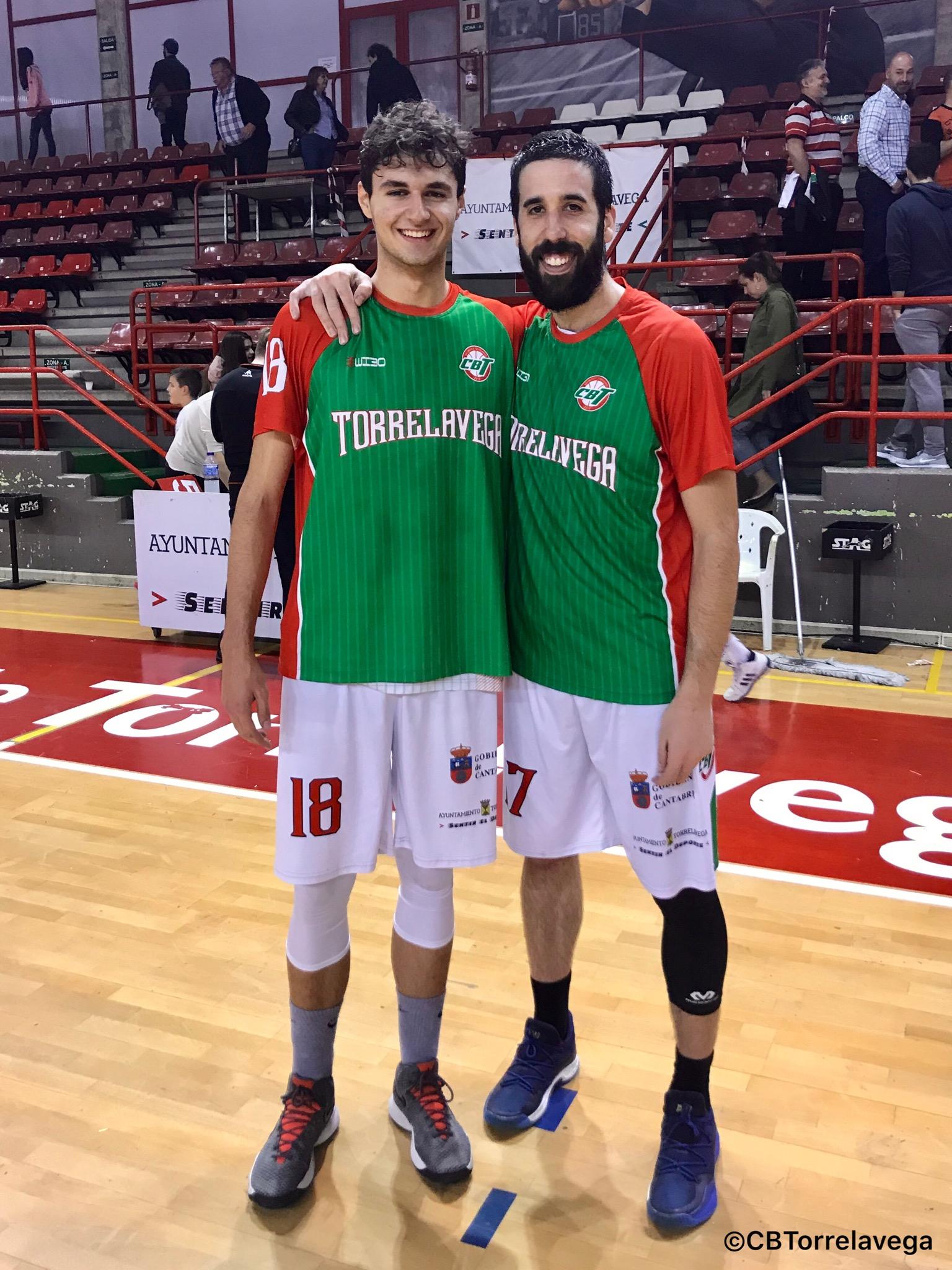 Pablo Ricciardiello y Jorge Urtiaga - CBT Torrelavega A