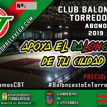 Abono Simpatizante 2019 del CBT Torrelavega