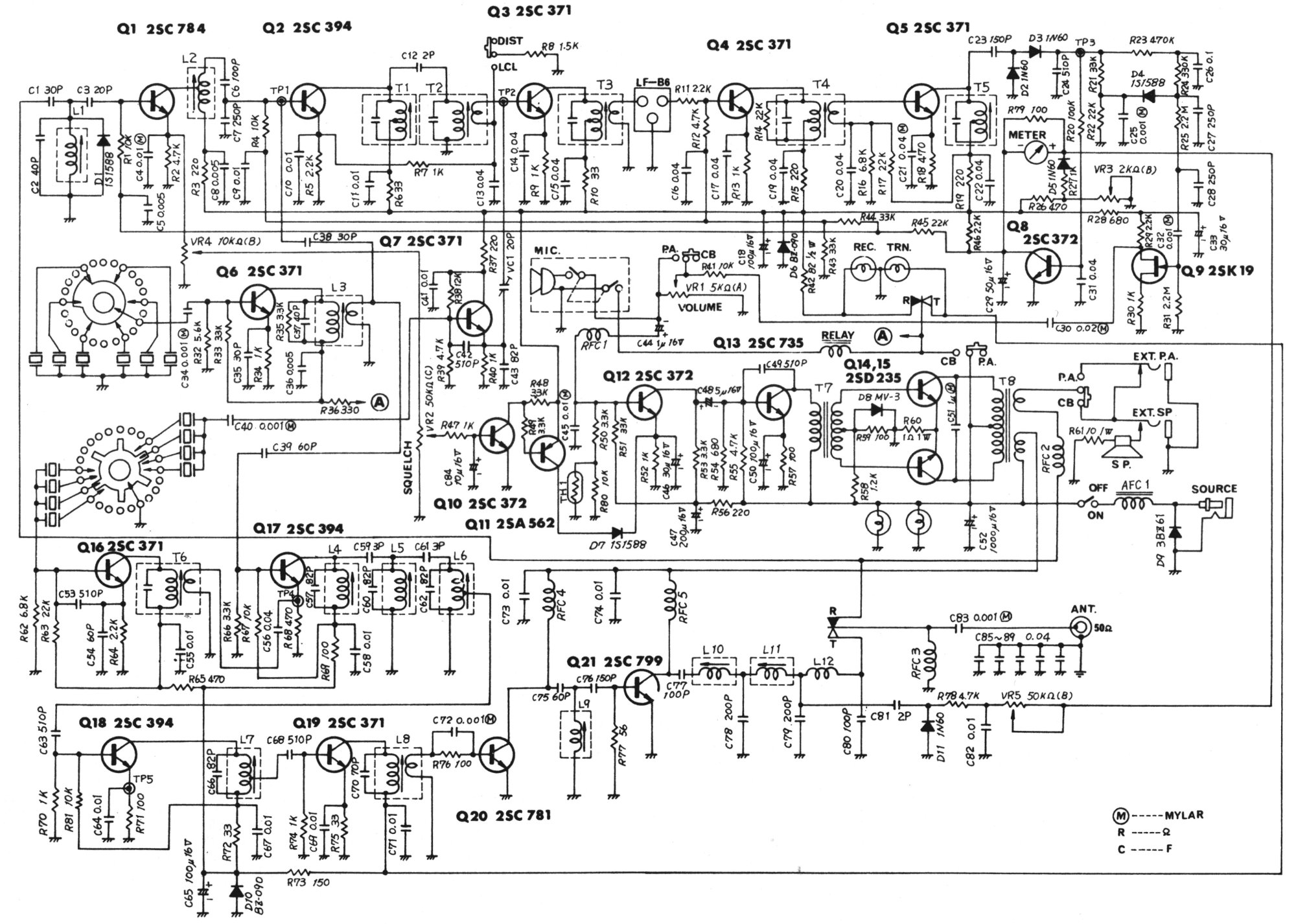 hight resolution of cb diagram st wiring e1mw050 wiring library cb microphone wiring diagram browning sst cb radio wiring diagrams