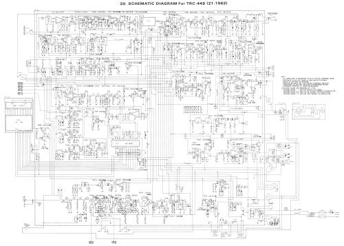 small resolution of realistic trc449 21 1562 schematic diagram chassis exploded view mic wiring