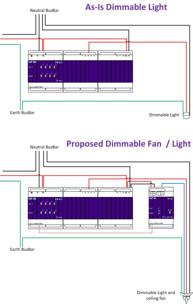 L5501RFCP Ceiling Fan Controller Wiring? C Bus Forums
