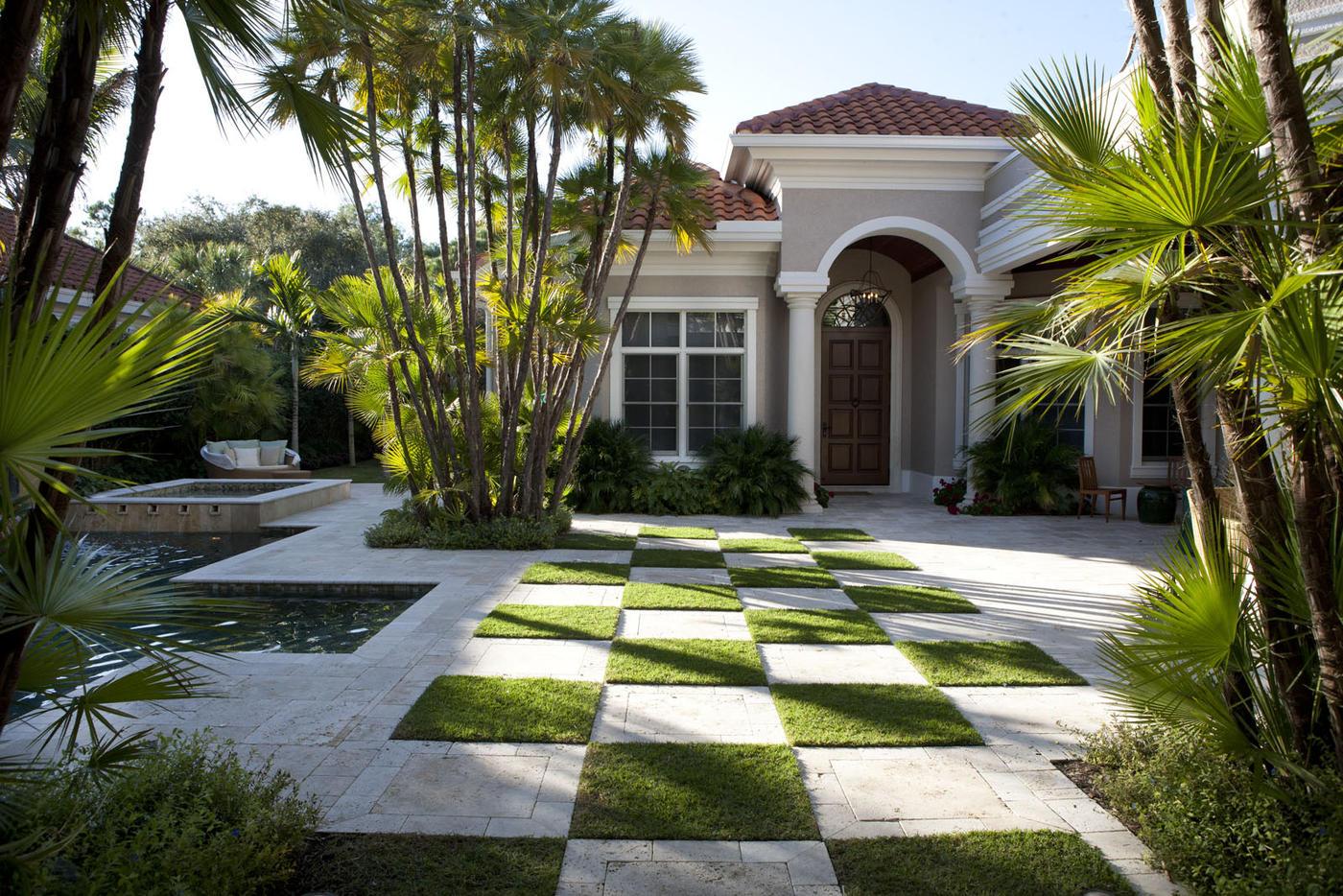 living courtyard