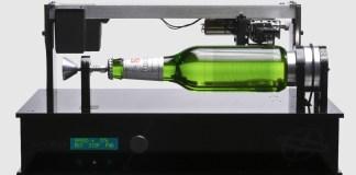 the becks edison record bottle