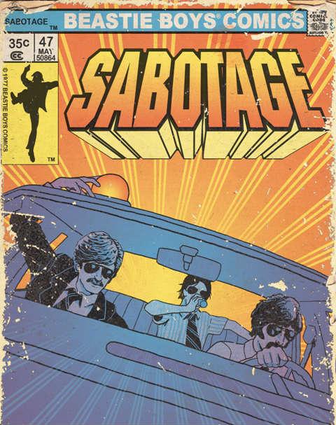 The beastie boys comics, sabotage