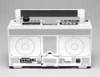white design of the berlin boombox