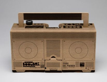 berlin boombox 100% recycled