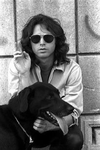 jim morrison and his dog