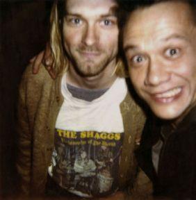 kurt cobain and Youri Lenquette