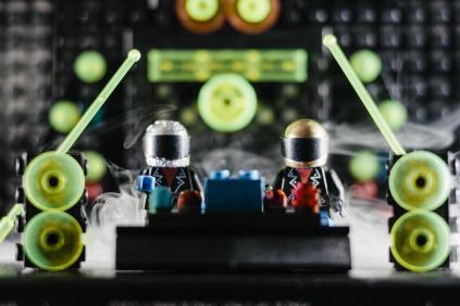 daft punk built on lego