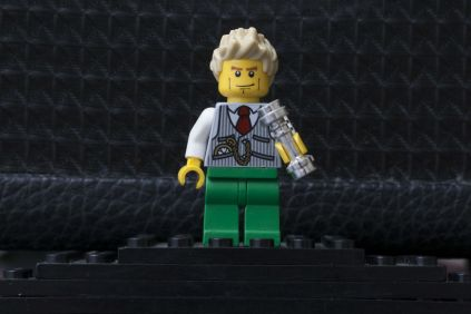 david bowie made out of lego