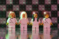 abba made out of lego