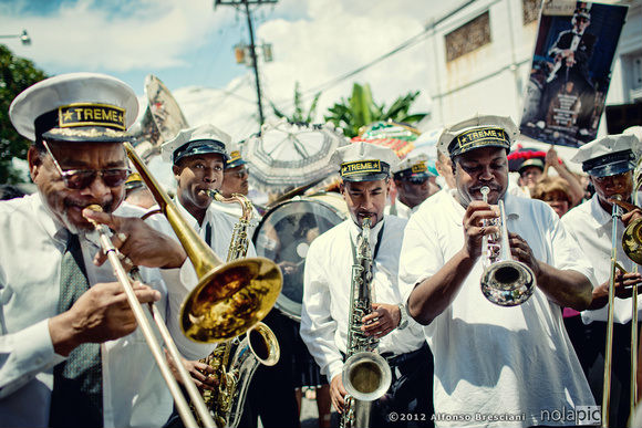 treme, brass band, new orleans