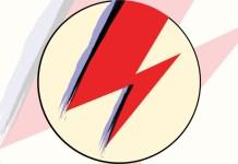 David bowie - aladdin sane lightning bolt