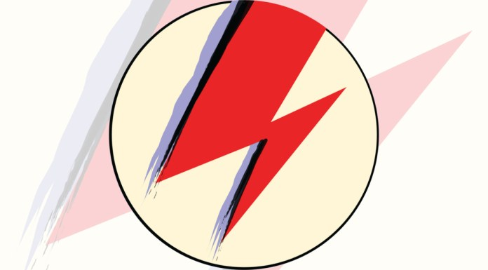 David bowie - aladdin sane lightning bolt