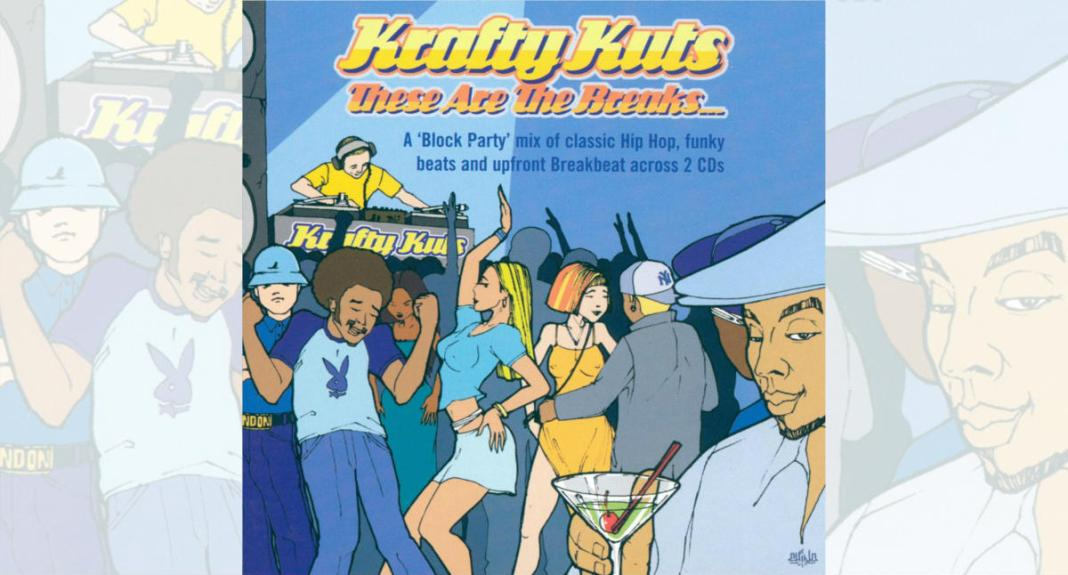 these are the breaks, krafty kuts cover album