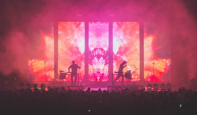 odesza, live at san jose