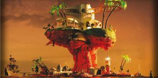 album cover plastic beach, gorillaz
